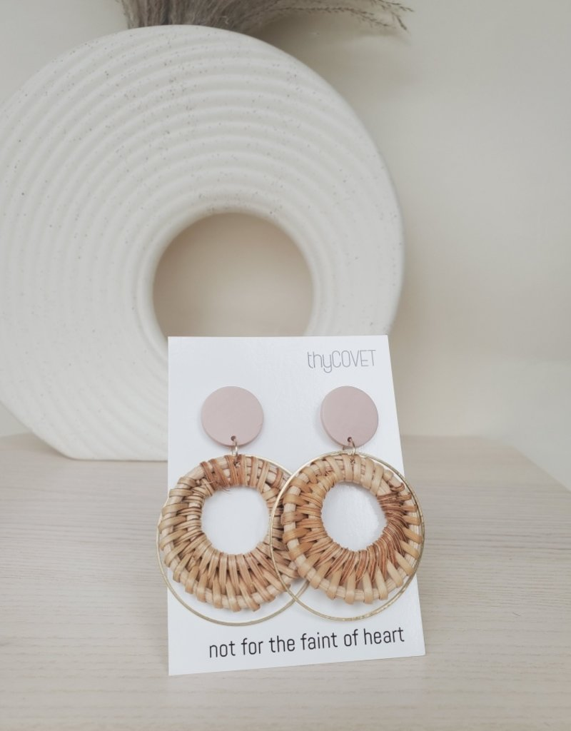thyCovet TC - Mila Rattan Earrings