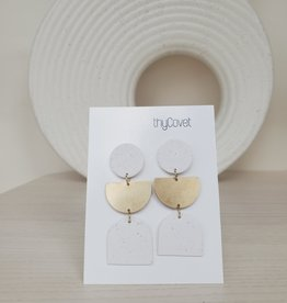 thyCovet TC - Geo Shape Earrings