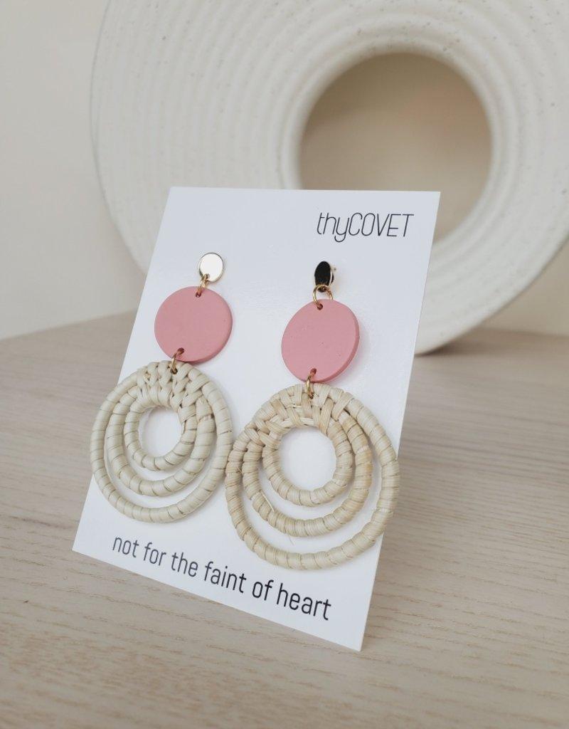 thyCovet TC - Indra Rattan Earrings