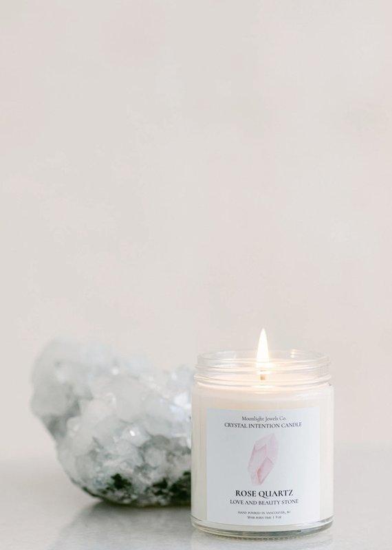 MJC - Rose Quartz Candle