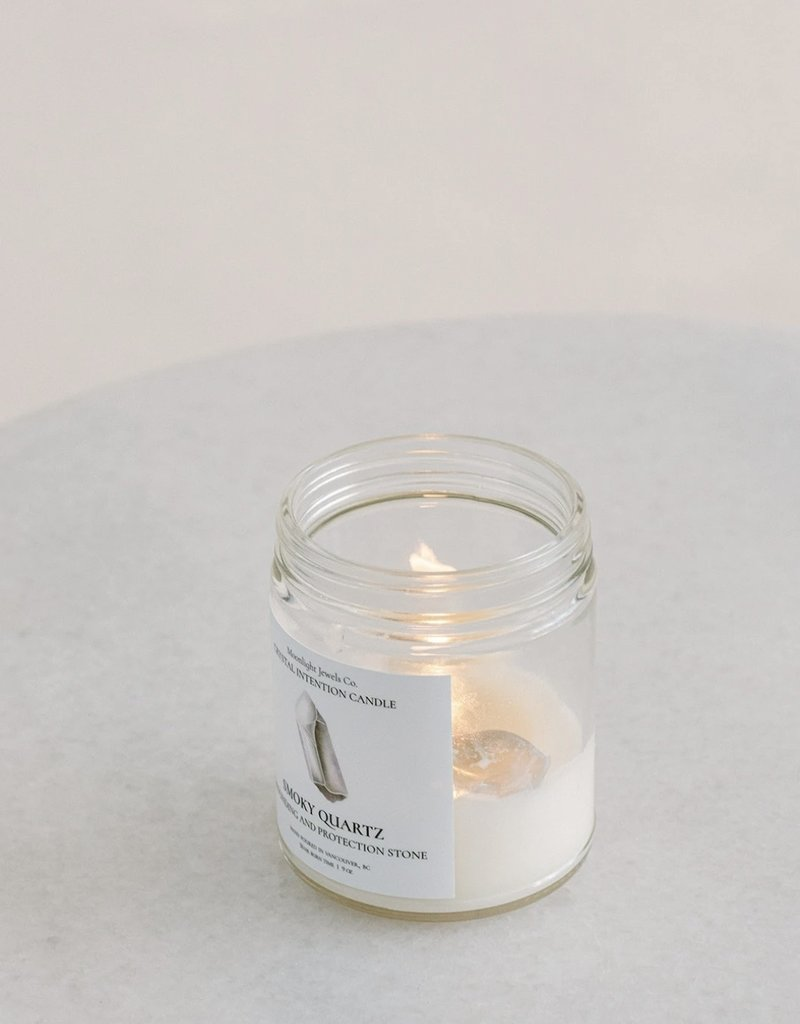 MJC - Smokey Quartz Candle