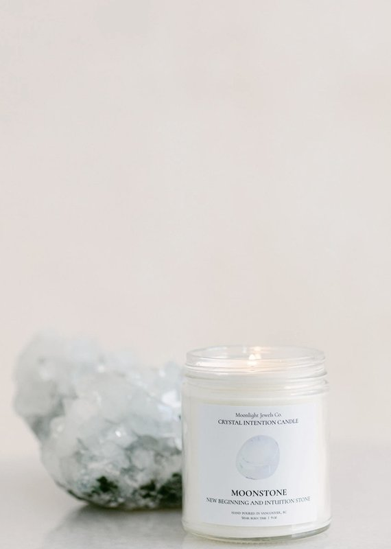 MJC - Moonstone Candle