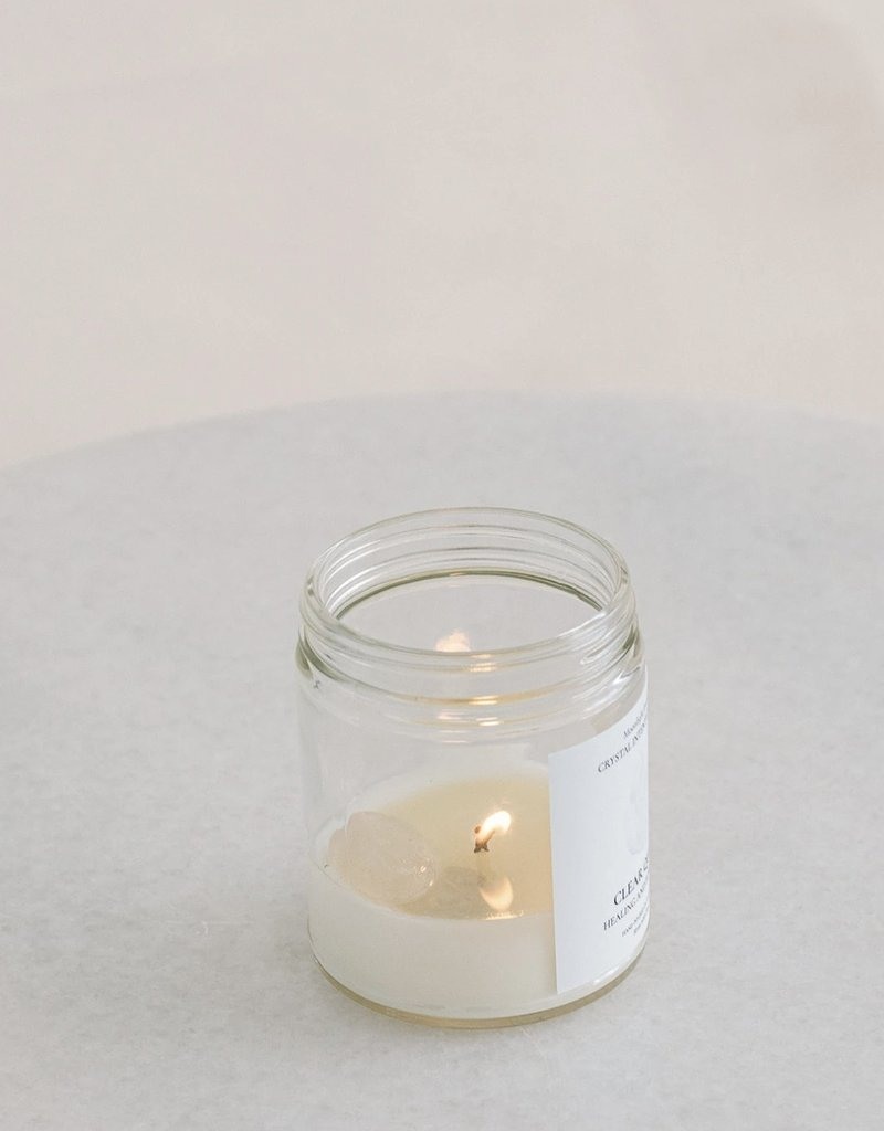 MJC - Clear Quartz Candle