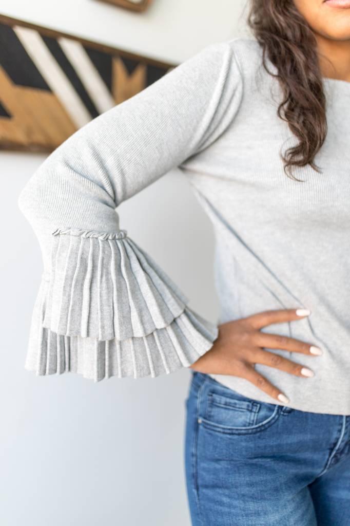 Chex Cuff Sweater