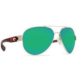 be2e9fbb10e94 Costa Del Mar South Point Green Mirror 580 Glass - Rose Gold w Light  Tortoise