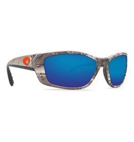 Costa Del Mar Fisch Blue Mirror Glass - W580 Realtree Xtra Camo