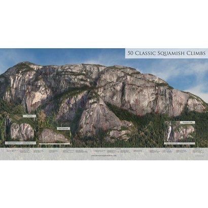 50 Classic Squamish Climbs Poster