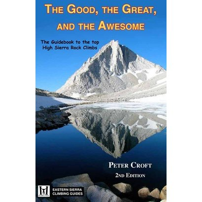 Wolverine Publishing The Good, The Great, and the Awesome - High Sierra Rock Climbs