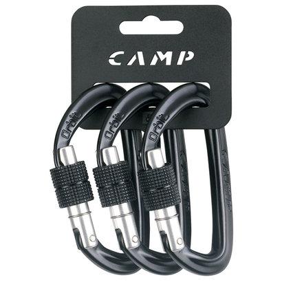 CAMP Orbit Screw-Lock Carabiner 3 Pack