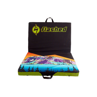 Flashed Chief Print Drifter Crash Pad