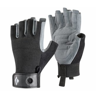 Black Diamond Crag Half-Finger Gloves (past season)