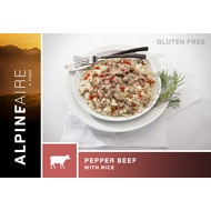 Alpine Aire Foods Pepper Beef with Rice