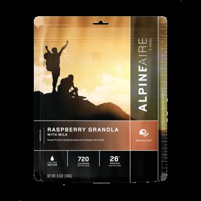 Alpine Aire Foods Raspberry Granola with Milk