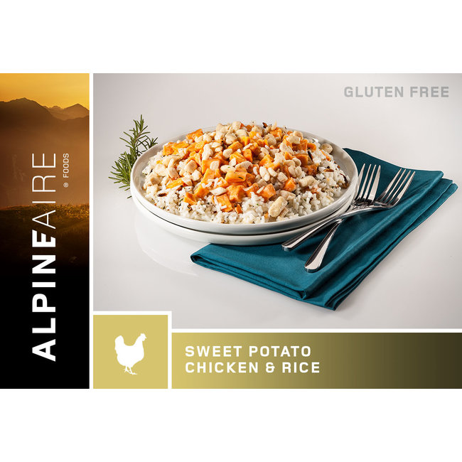 AlpineAire Foods Sweet Potato Chicken & Rice