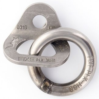 "FIXE Hardware PLX/Duplex SS 3/8"" Ring Anchor"