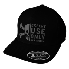 Rock Exotica Rock Trucker Hat Black
