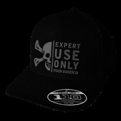 Rock Exotica Rock Trucker Hat Black