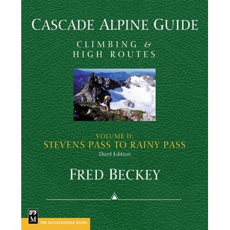 Mountaineers Books Cascade Alpine Guide, Volume 2