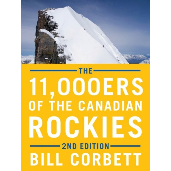 Rocky Mountain Books The 11,000ers of the Canadian Rockies, 2nd Edition