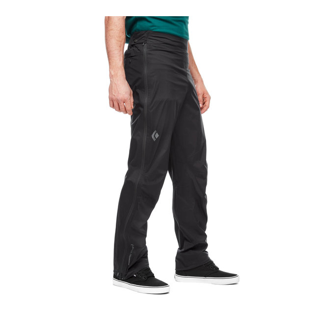 Black Diamond Men's Stormline Full Zip Rain Pant