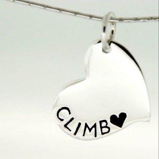 Epic Jewellery Climbing Heart Necklace