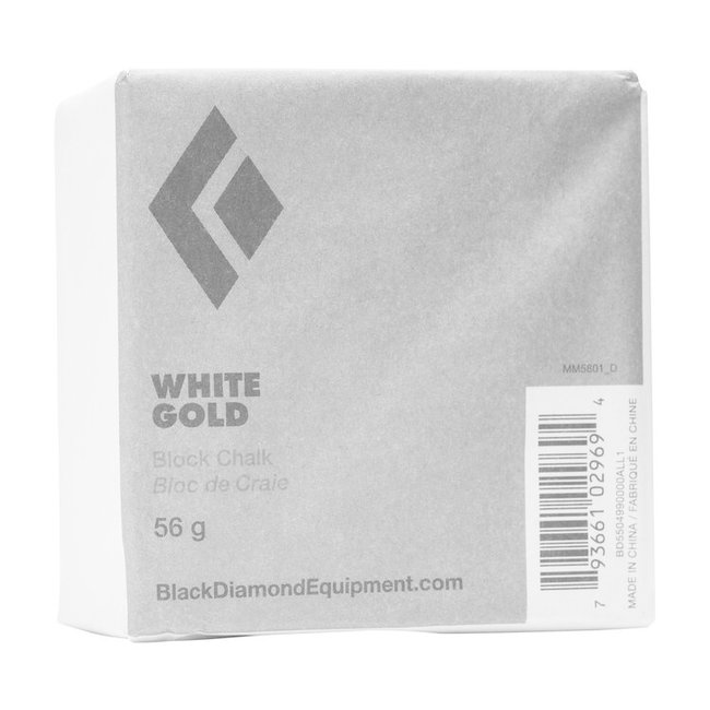 Black Diamond White Gold Chalk Block 56g