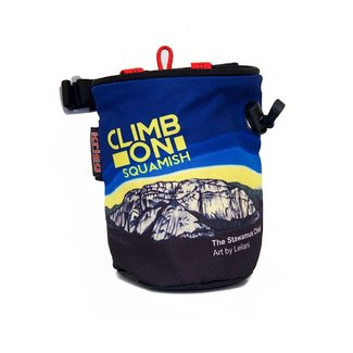 Krieg Stawamus Chief Climb On Chalk Bag