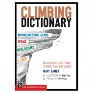 Mountaineers Books Climbing Dictionary Matt Samet