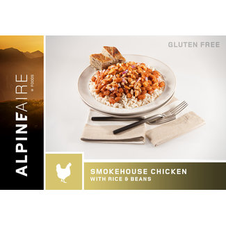 AlpineAire Foods Smokehouse Chicken with Beans & Rice