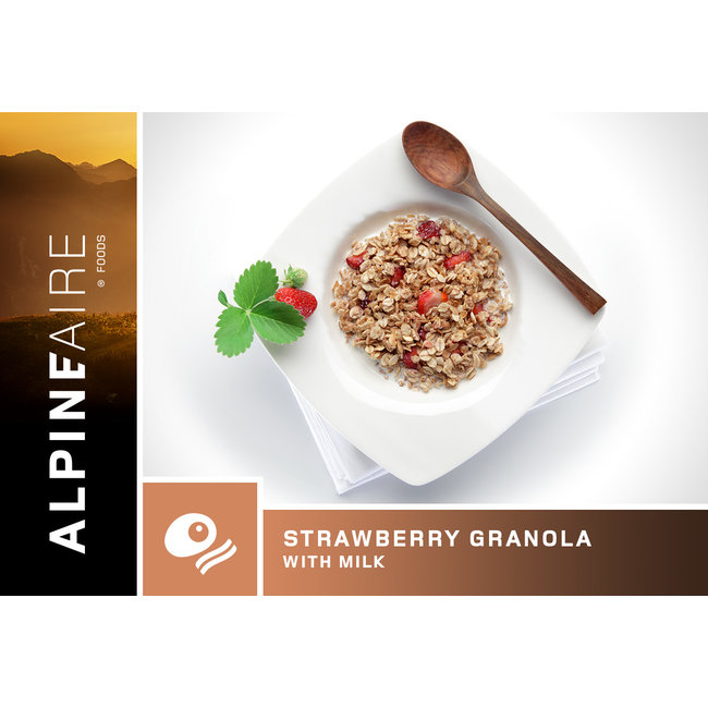 AlpineAire Foods Strawberry Granola
