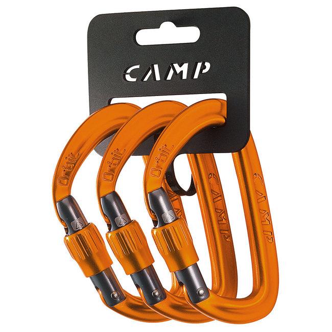 CAMP Orbit Lock 2020 Screwgate 3 Pack