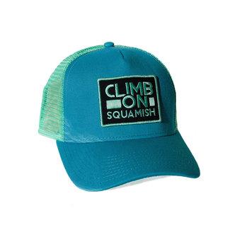 Climb On Badge Trucker Hat
