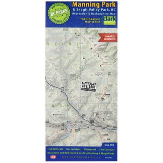 Clark Geomatics Manning/Skagit Park Map 2nd Edition