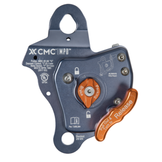 MPD 11 mm Pulley / Rescue Belay / Descent Control
