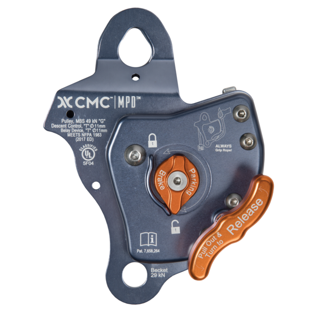 CMC MPD 11 mm Pulley / Rescue Belay / Descent Control