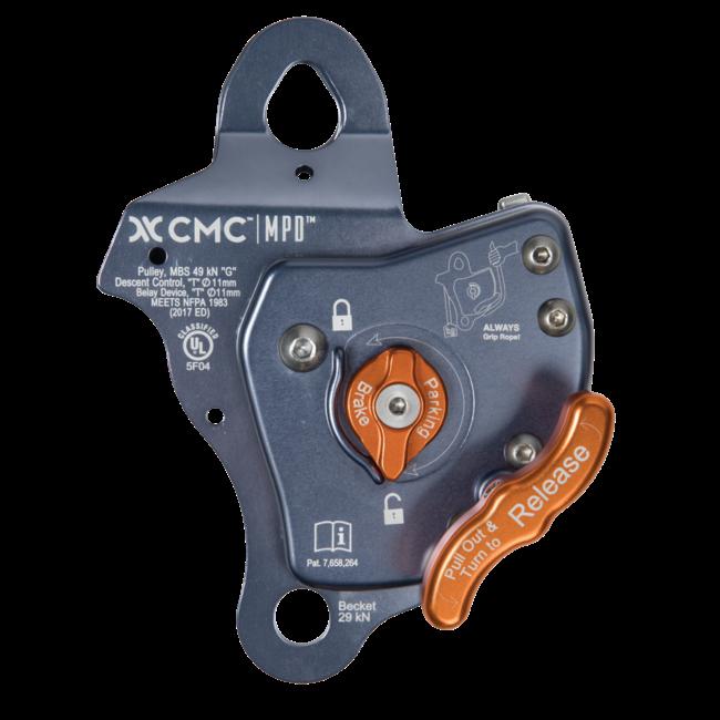 MPD 11 mm Pulley / Rescue Belay / Descent Control