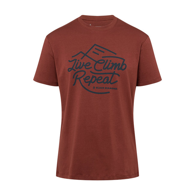 Black Diamond Men's Live Climb Repeat Tee
