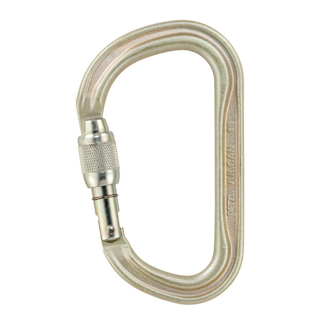 Petzl Vulcan Steel Screw-Lock Carabiner