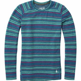 Smartwool Women's Merino 250 Base Layer Pattern Crew
