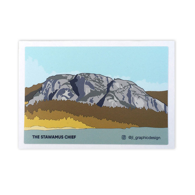 Jade Littlewood Design The Stawamus Chief Sticker