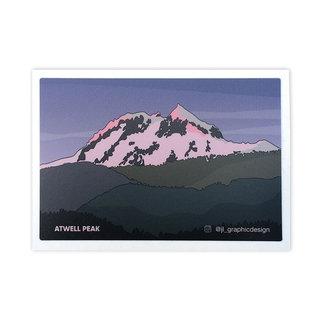 Jade Littlewood Design Atwell Peak Sticker