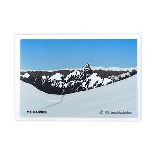 Jade Littlewood Design Mt. Habrich Sticker