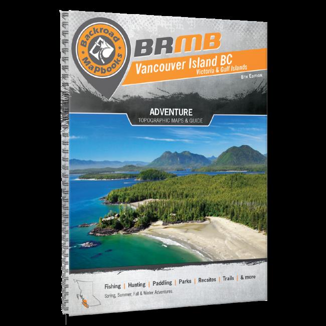 Backroad Mapbooks Vancouver Island BC