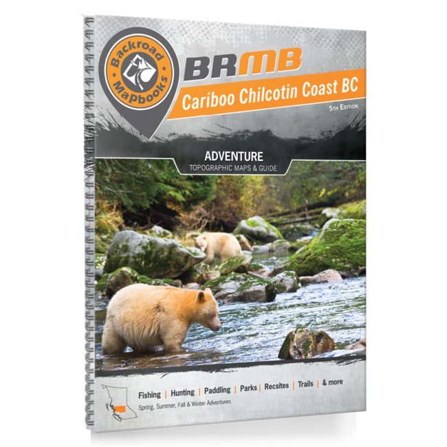 Backroad Mapbooks Cariboo Chilcotin Coast BC