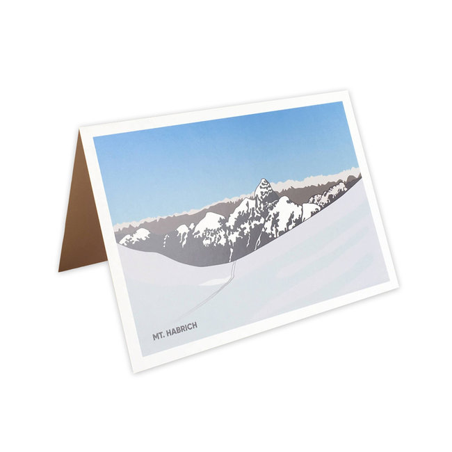 Jade Littlewood Design Mt. Habrich Greeting Card