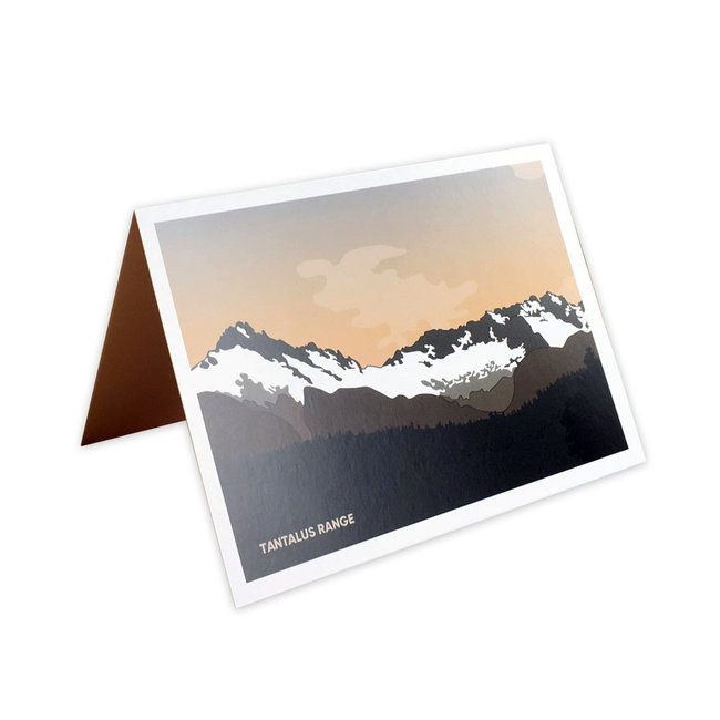 Jade Littlewood Design Tantalus Range Greeting Card