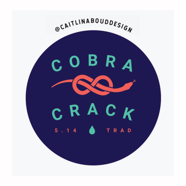 Caitlin Aboud Design Sticker Cobra Crack