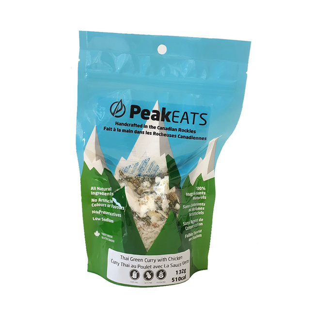 PeakEATS Spicy Thai Green Curry with Chicken