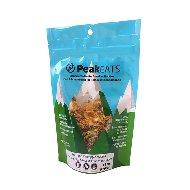 PeakEATS Indian Pineapple and Pork Madras Curry