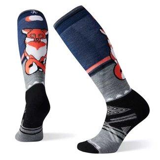 Smartwool Women's PhD Ski Medium Fox Pattern Socks